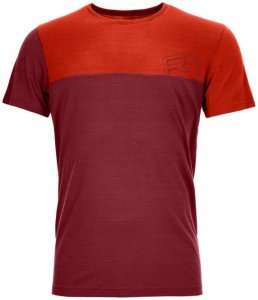 Ortovox 150 Cool Logo T-Shirt Men Herren (Beere   XL INT ) Bekleidung Shirts Funktionsshirts