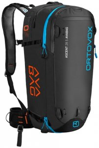 Ortovox Ascent 28 S AVABAG Damen (Schwarz ) | Ausruestung Rucksaecke Skitourenrucksaecke