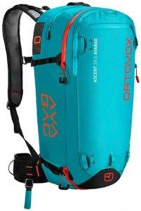 Ortovox Ascent 28 S AVABAG Damen (Türkis ) | Ausruestung Rucksaecke Skitourenrucksaecke