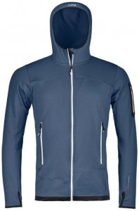Ortovox Fleece Light Hoody Men Herren (Dunkelblau M INT )   Bekleidung Jacken Isolationsjacken