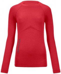 Ortovox Merino 230 Competition LS W Damen (Pink M INT )   Bekleidung Unterwaesche Funktionsunterhemden
