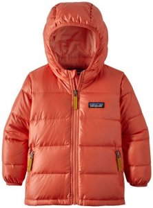 Patagonia Kinder Baby Hi-Loft Down Sweater Hoody (Orange 74 D ) | Bekleidung Kinderbekleidung Kinderjacken