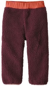 Patagonia Kinder Baby Reversible Tribbles Pants (Orange 74 D ) | Bekleidung Kinderbekleidung Kinderhosen