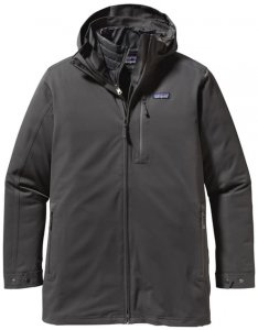 Patagonia M`s Tres 3-in-1 Parka Herren (Anthrazit L INT ) | Bekleidung Jacken Outdoorjacken