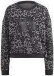adidas W Sportswear Leopard Print Sweatshirt Damen ( Grau XS)