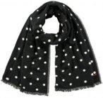 Barts Garonne Scarf Damen (Schwarz one size )   Bekleidung Accessoires Schals