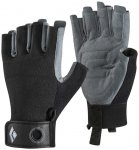 Black Diamond Crag Half Finger Rock Glove ( Schwarz XS INT,)