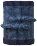 Buff Knitted Neckwarmer Comfort Dee Herren (Blau )