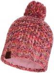 Buff Knitted Polar Fleece Hat Margo Damen ( Pink One Size,)