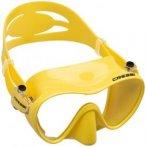 Cressi F1 Frameless Mask (Gelb) | Ausruestung Brillen Taucherbrillen