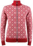 Dale of Norway Frida Jacket Woman Damen (Rot L INT ) | Bekleidung Jacken Fleecej