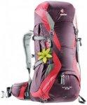 Deuter Futura Pro 34 SL Damen (Beere ) | Ausruestung Rucksaecke Trekkingrucksaec