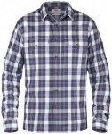 Fjällräven Singi Flannel Shirt LS Herren ( Blau L INT,)