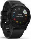 Garmin fenix 6X PRO Slate Gray w/Black Band Grau (One Size)
