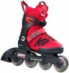 K2 Kinder Raider Pro Pack (Rot 35 EU ) | Schuhe Kinderschuhe Kinderschlittschuhe