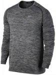 Nike M NK DF Knit Top LS Herren (Schwarz L INT ) | Bekleidung Shirts Funktionssh