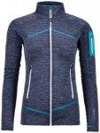 Ortovox Fleece Light Melange Jacket Women Damen (Dunkelblau M INT ) | Bekleidung
