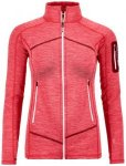 Ortovox Fleece Light Melange Jacket Women Damen (Pink M INT ) | Bekleidung Jacke