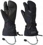Outdoor Research Highcamp 3-Finger Ventia PRL Gloves Uni (Schwarz L INT ) | Bekl