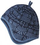 Patagonia Kinder Baby Reversible Beanie ( Dunkelblau 104 One Size,)