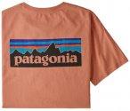 Patagonia Ms P-6 Logo Organic T-Shirt Herren ( Hellrot L)