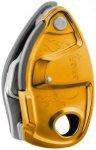 Petzl Grigri + (Orange) | Ausruestung Sicherungen Abseil-Sicherungsgeraete