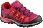 Salomon Kinder X-Ultra GTX J (Beere 34 EU ) | Schuhe Kinderschuhe Kinderwandersc