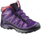 Salomon Kinder X-Ultra Mid GTX J (Pflaume 38 EU ) | Schuhe Kinderschuhe Kinderwa