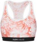 super.natural Yoga Bustier Printed Damen ( Hellrot M INT,)