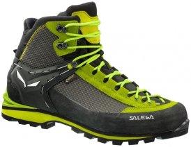 Salewa MS Crow GTX Herren (Grün 11 5 UK 46.5 EU ) | Schuhe Expeditions-Hochtourenschuhe (Alpine Bergschuhe)