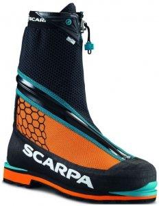 Scarpa Phantom Tech (Schwarz 43 5 EU ) | Wintersport Eisklettern Typ D (Absolut steigeisenfeste Bergschuhe)