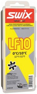 Swix LF10X Yellow 0°C 10°C 180g (Farblos )   Ausruestung Skiausruestung Wachs-Zubehoer