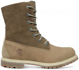 Timberland Authentics Teddy Fleece W Damen (Braun 7 5 US 38.5 EU ) | Schuhe Winterstiefel