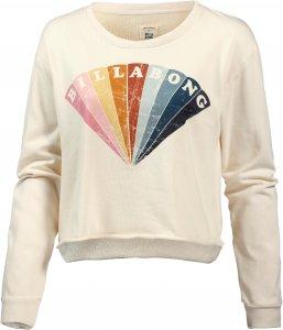 Billabong CROP CREW Fleecepullover Damen Pullover & Sweats L Normal