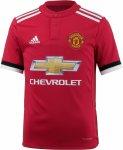 adidas Manchester United 17/18 Heim Fußballtrikot Kinder Trikots 176 Normal