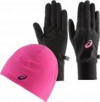 ASICS PERFORMANCE Set aus Mütze, Schal und Handschuhe Damen Kopfbedeckungen XL