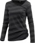 iriedaily Asym Stripe 4 Langarmshirt Damen Langarmshirts XS Normal
