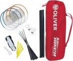 OLIVER Badminton Set Badmintonschläger Einheitsgröße Normal