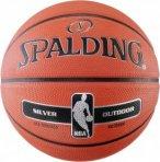 Spalding NBA SILVER OUTDOOR Basketball Basketbälle 6 Normal