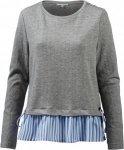 TOM TAILOR 2-in-1 Langarmshirt Damen Langarmshirts XL Normal