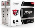 Wilson Staff Zip Golfball Bälle Einheitsgröße Normal
