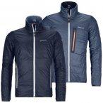 Ortovox Piz Boval Swisswool Jacke night blue blend blau, M