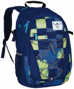 Chiemsee Herkules Rucksack 50 cm Laptopfach swirl checks
