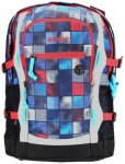 4YOU Basic Jump Rucksack 47 cm square red-blue