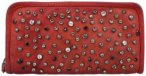 Campomaggi Portafoglio Geldbörse Leder 20.5 cm rosso