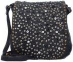 Campomaggi Traditional Mini Bag Umhängetasche Leder 17 cm nero