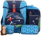 Deuter OneTwo Set - Sneaker Bag Schulranzen 5-tlg. 40 cm navy soccer