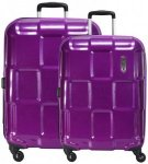 Epic Crate ex 4-Rollen Kofferset 2tlg. purple passion, Gr. XL (71-80 cm)