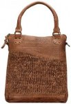 Greenland Femi & Nine Ladies Bag Handtasche Leder 32 cm cognac