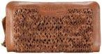 Greenland Femi & Nine Ladies Wallet Geldbörse Leder 20 cm cognac